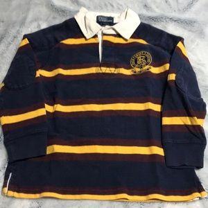 Toddler Boys Pullover Ralph Lauren Shirt. EUC